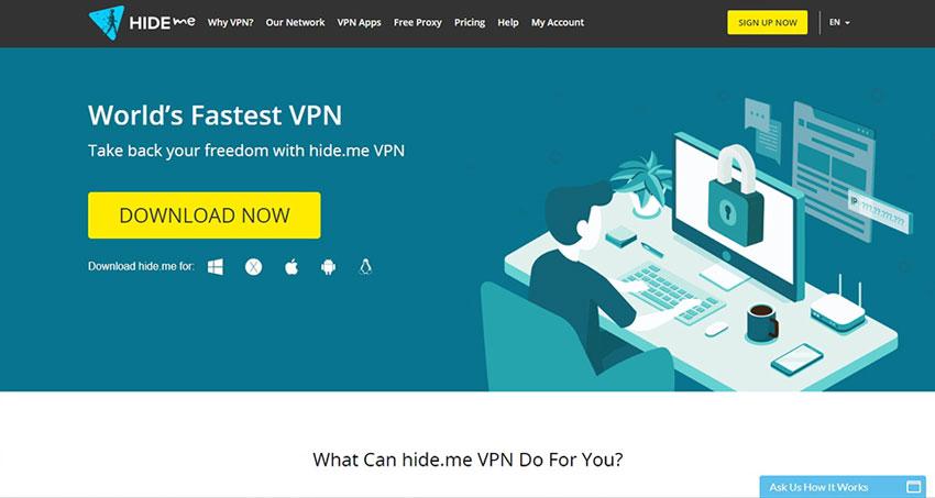Hide.Me Best Free VPNs