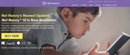 Net Nanny parental control software